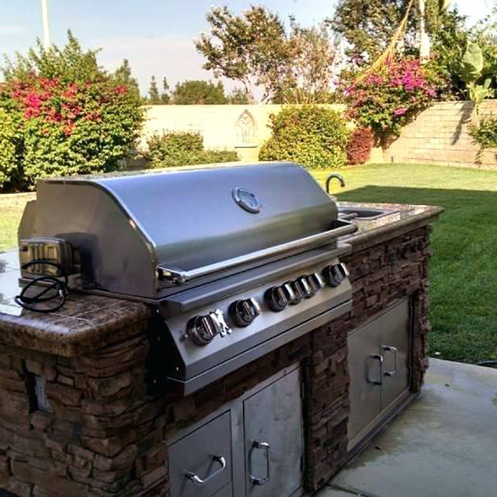 modern outdoor spaces barbeques
